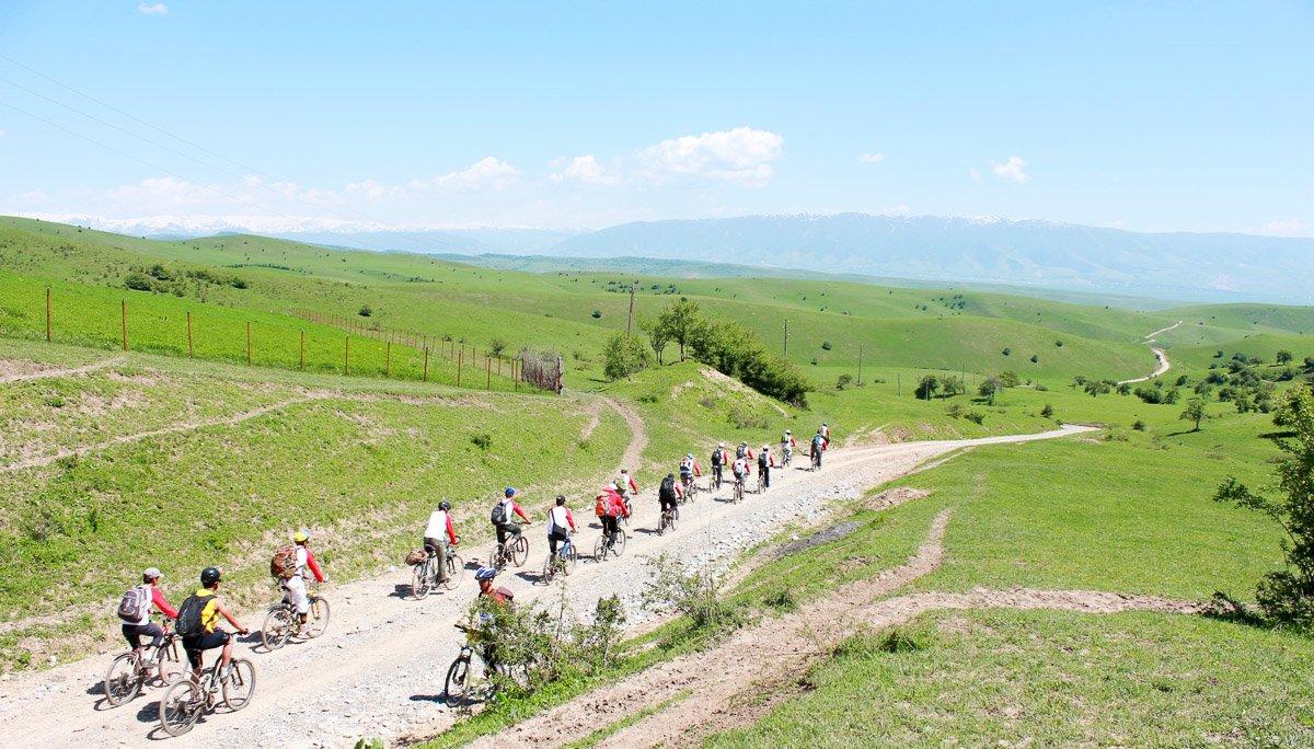 Arslanbob Bike Challenge, Jalal-Abad Region, Kyrgyzstan