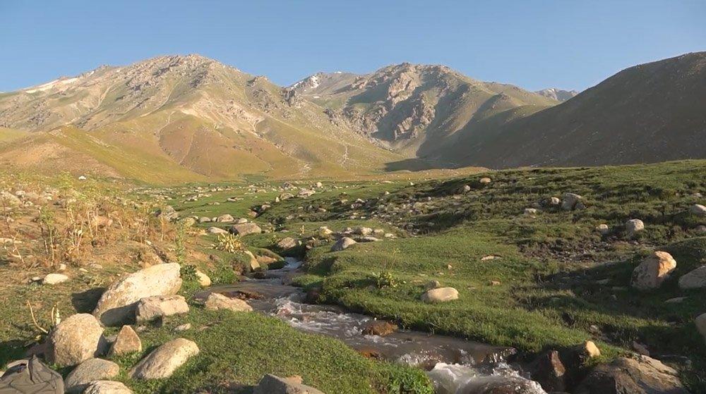 Besh-Aral State Reserve, Jalal-Abad Region, Kyrgyzstan