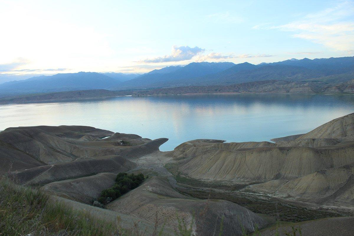 Toktogul Reservoir, Jalal-Abad Region, Kyrgyzstan