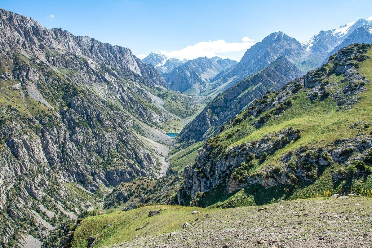 Arslanbob Holy Lake Trek Mountain Landscapes - Jalal-Abad Region, Kyrgyzstan
