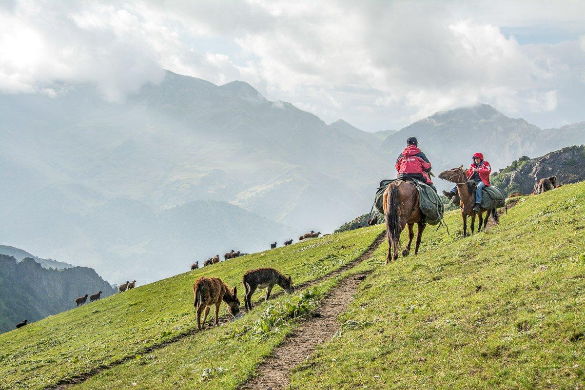 Arslanbob Holy Lake Trek, Sere Jailoo Pasture - Jalal-Abad Region, Kyrgyzstan