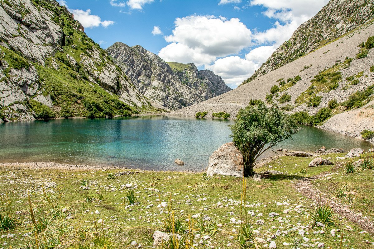 Arslanbob Holy Lake Trek - Jalal-Abad Region, Kyrgyzstan