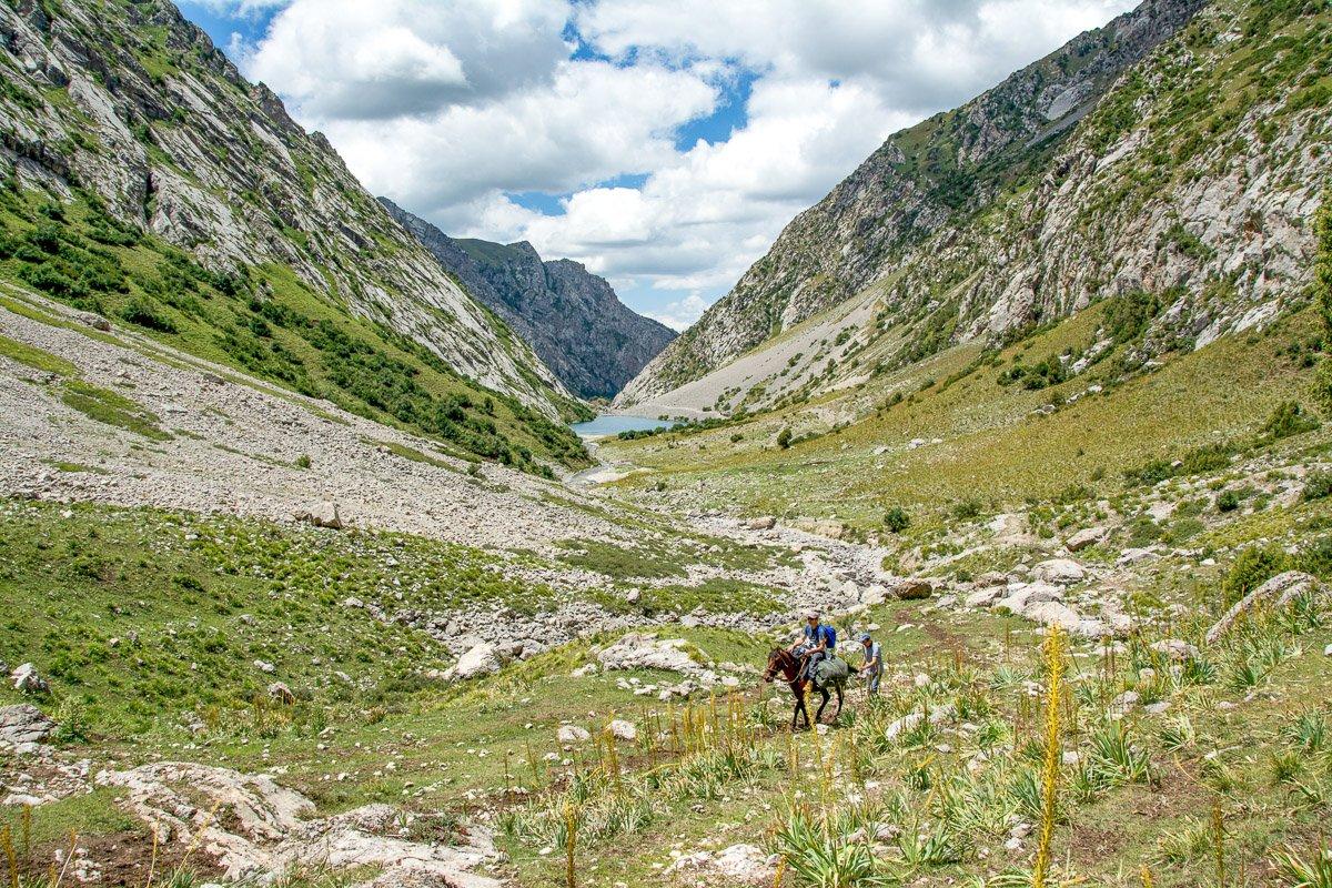 Horseback Riding in Jalal-Abad Region, Kyrgyzstan