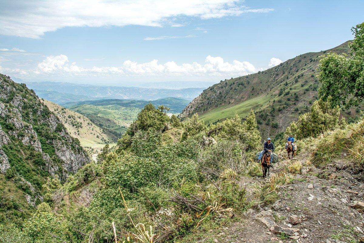 Arslanbob Horse Trek to Holy Lake, Char Asha Gorge - Jalal-Abad region, Kyrgyzstan