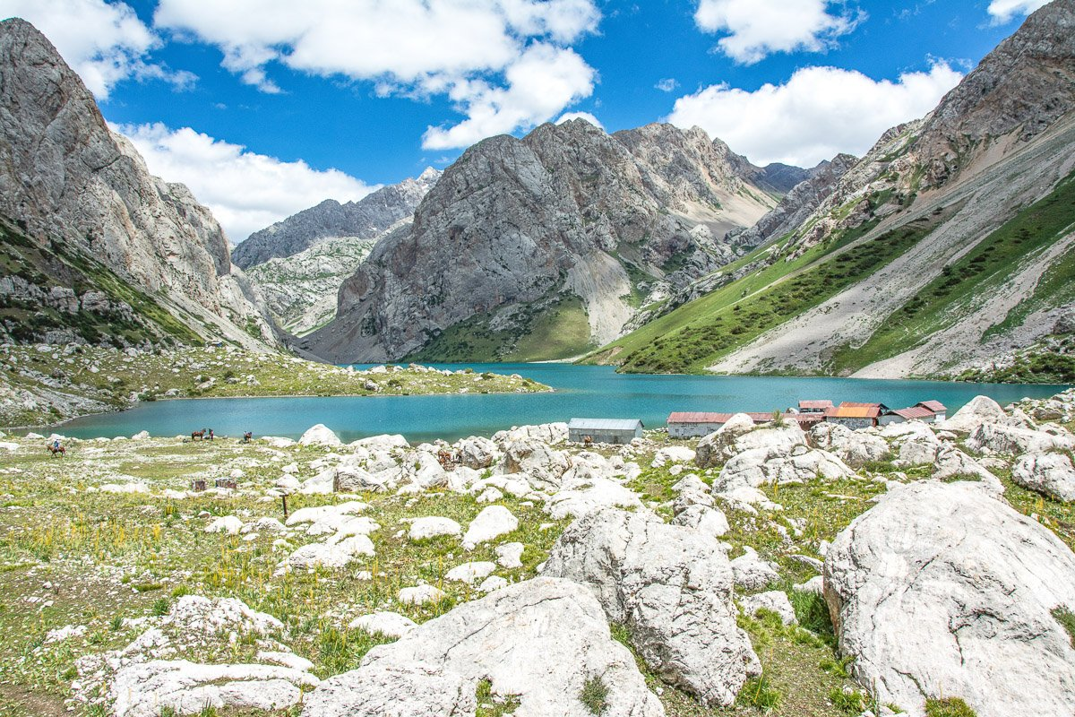 Arslanbob Horse Trek to Holy Lake, Kolkupan Lake - Jalal-Abad region, Kyrgyzstan