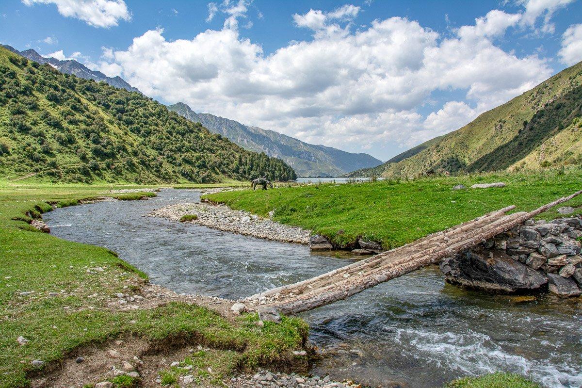 Horse Trek Arslanbob to Toktogul, Kapka-Tash River - Jalal-Abad Region, Kyrgyzstan