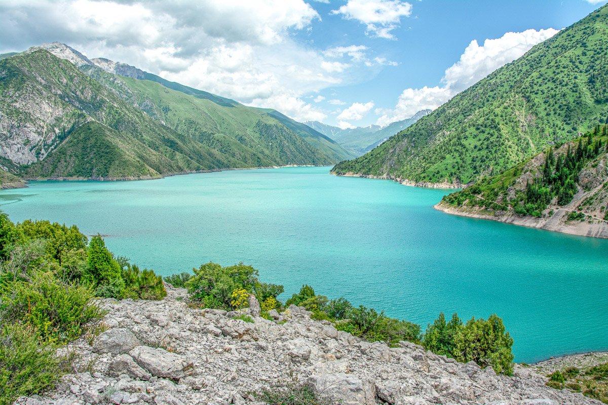 Horse Trek Arslanbob to Toktogul, Kara-Suu Lake - Jalal-Abad Region, Kyrgyzstan