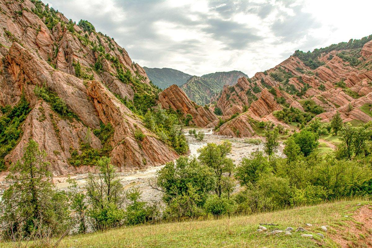 Horse Trek Arslanbob to Toktogul, Kyzyl-Unkur Canyon - Jalal-Abad Region, Kyrgyzstan