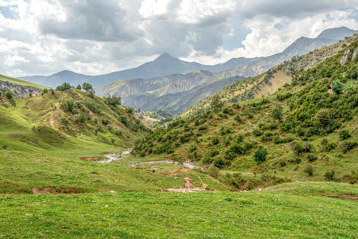 Horse Trek Arslanbob to Toktogul, Otuz Art Valley - Jalal-Abad Region, Kyrgyzstan