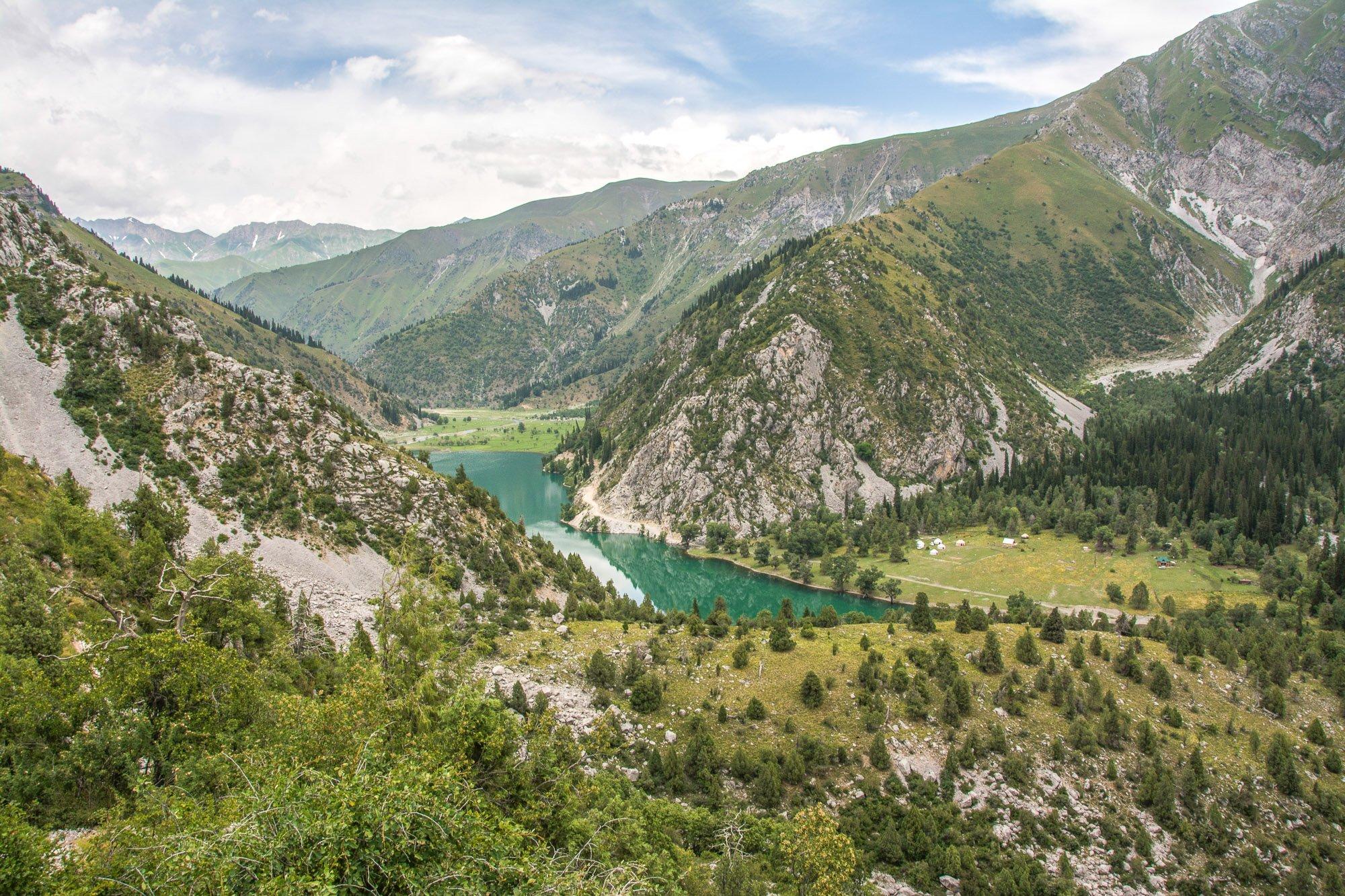 Exploring Sary-Chelek on Horseback Tour, Kara-Kamysh Lake - Jalal-Abad Region, Kyrgyzstan
