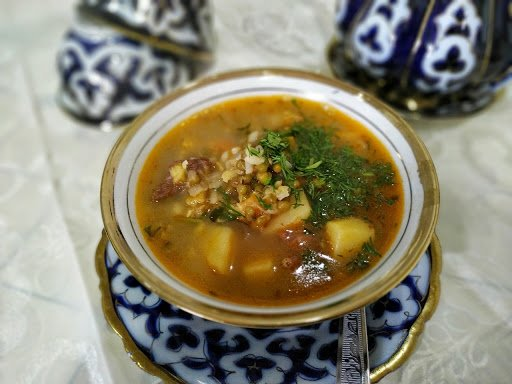 Jalal-Abad Food Tour, MashKordo Soup - Kyrgyzstan