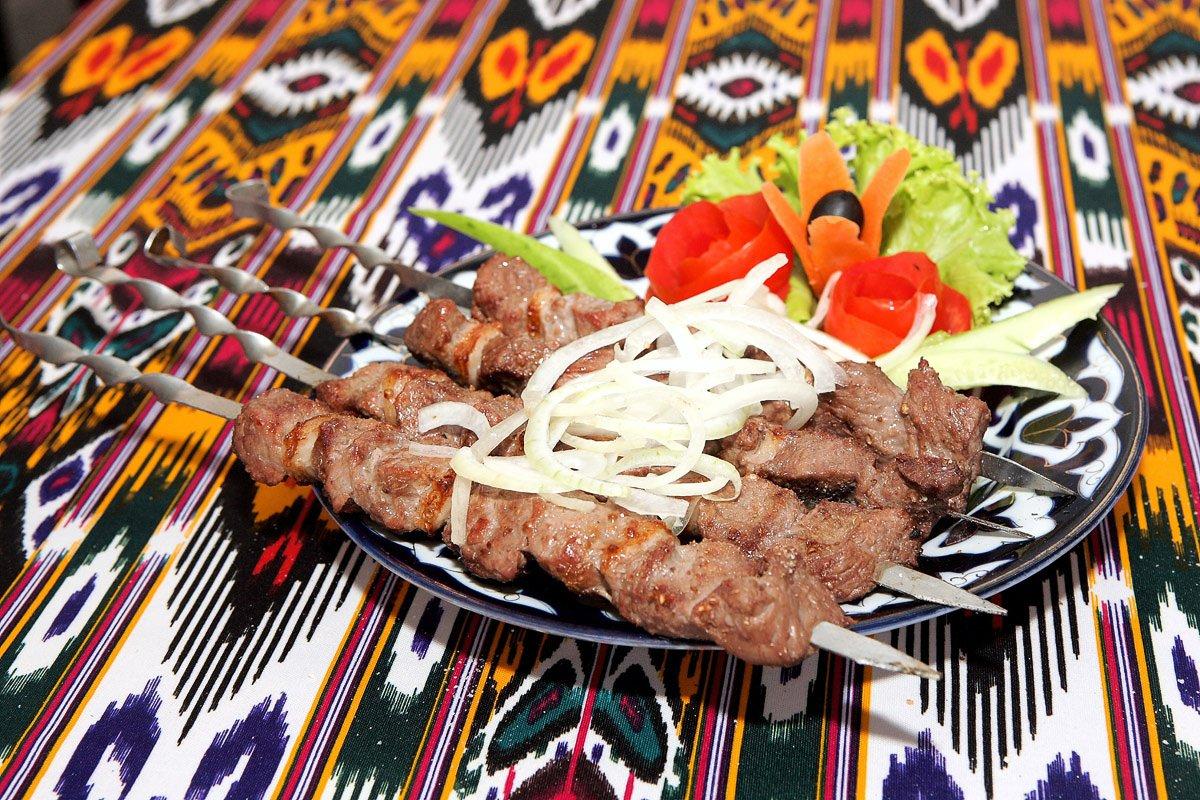 Jalal-Abad Food Tour, Shashlik - Kyrgyzstan