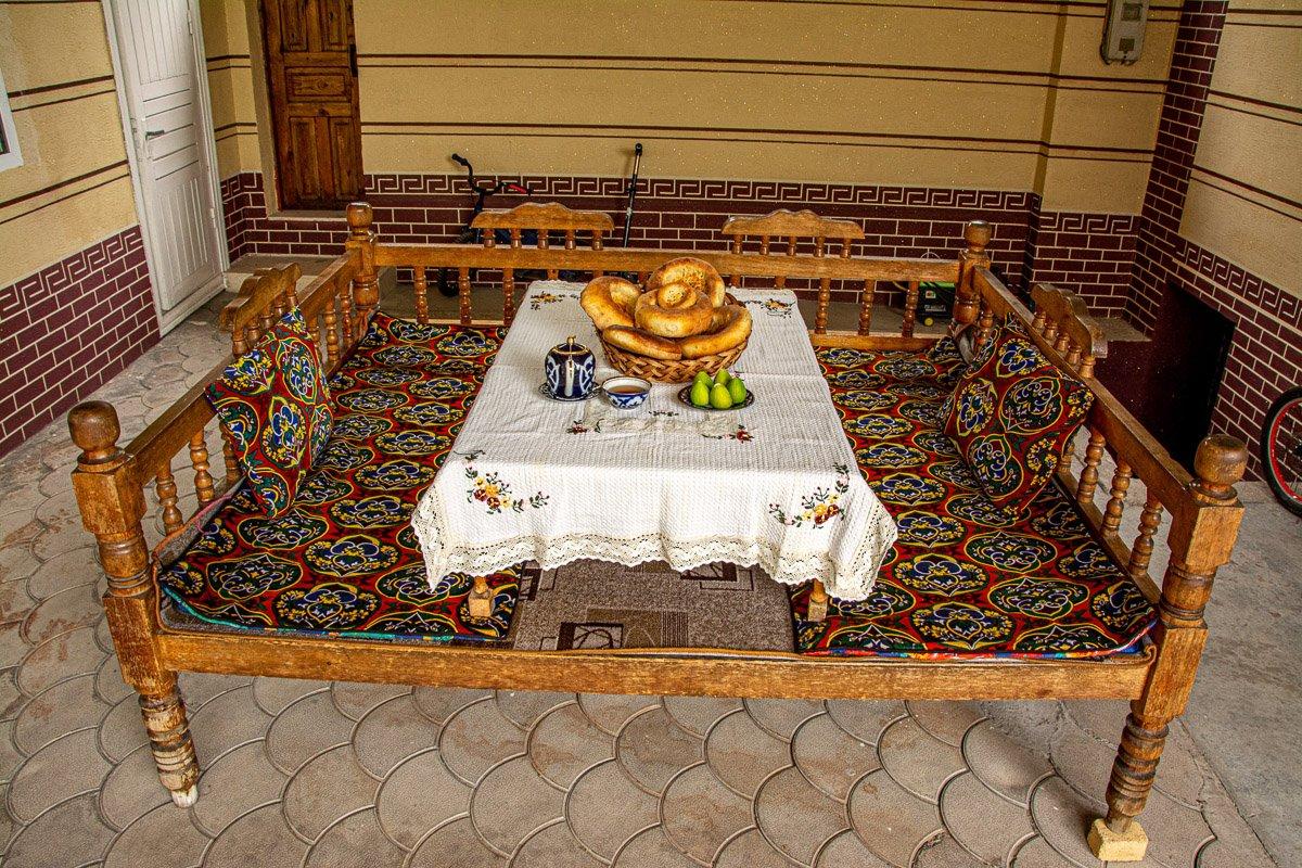 Jalal-Abad Food Tour, Tapchan - Kyrgyzstan