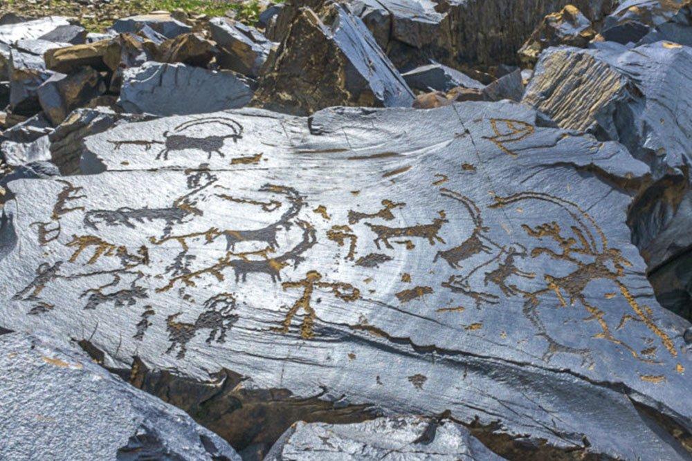 Saimaluu-Tash Petroglyphs Heritage Tour (2 days), Jalal-Abad Region, Kyrgyzstan