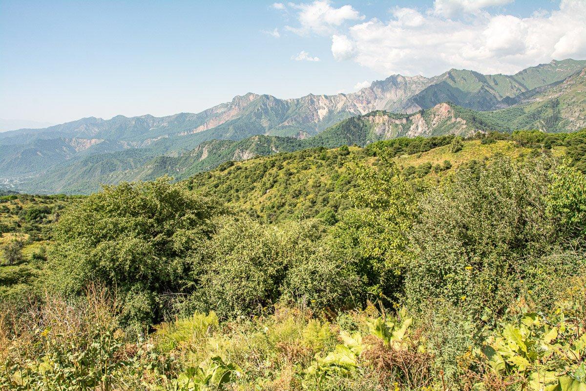 Sary-Chelek Day HIke Panoramic View, Jalal-Abad Region - Kyrgyzstan