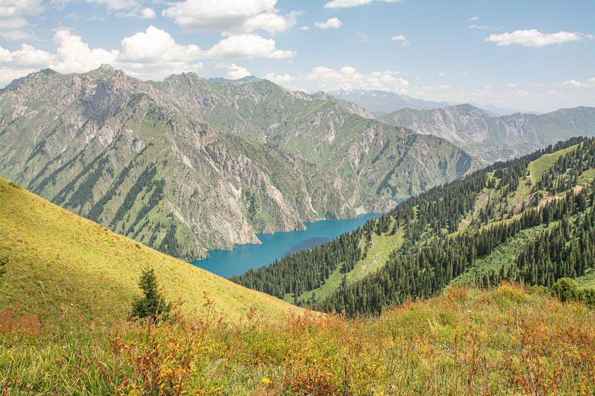 Sary-Chelek Trekking Adventure Ashuu Pass Panorama - Jalal-Abad Region, Kyrgyzstan
