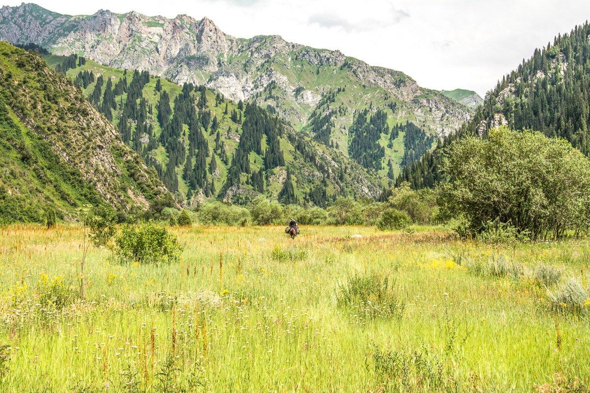 Exploring Sary-Chelek on Horseback Tour - Jalal-Abad Region, Kyrgyzstan